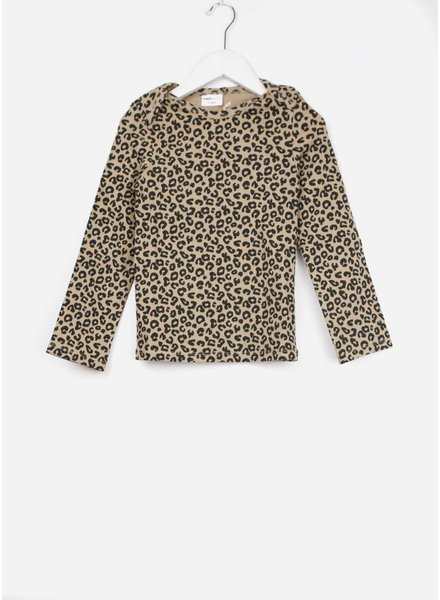 Maed for mini brown leopard ls tshirt