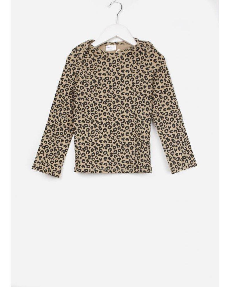Maed for mini brown leopard ls tshirt