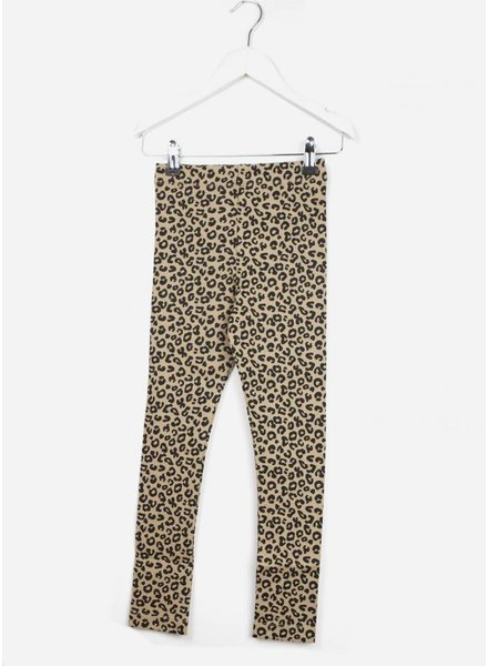 Maed for mini brown leopard pants