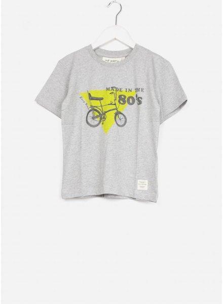 Soft Gallery shirt asger light grey melange chopper