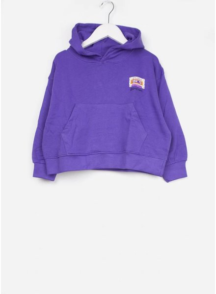 Soft Gallery trui daimi hoodie ultra violet groove