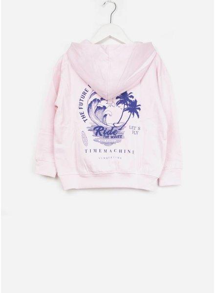 Soft Gallery trui bowie hoodie parfait pink waverider