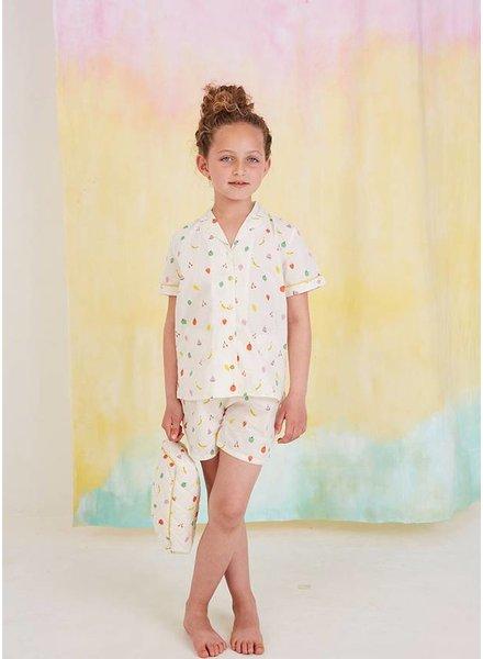 Soft Gallery pyjama short pristine fruity