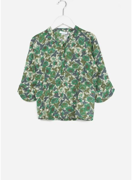 By Bar blouse fenne leaf