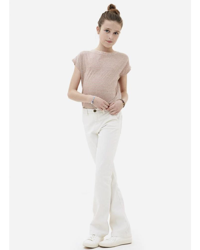 By Bar girls leila pant off white