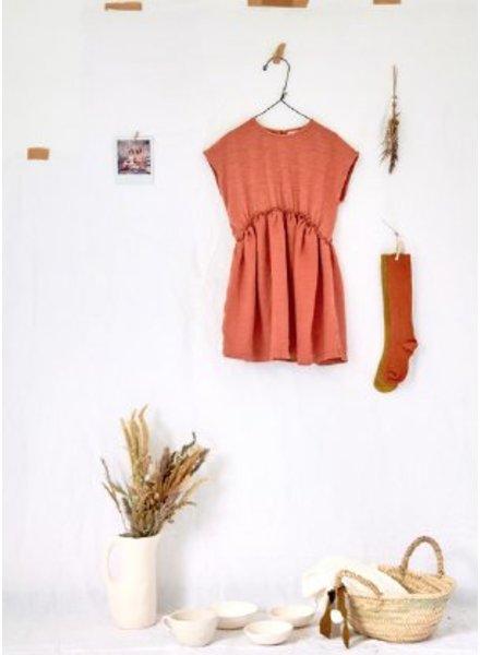 Play Up jurk mixed dress