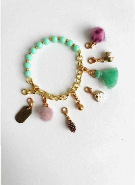 ByMelo bedel armband mint