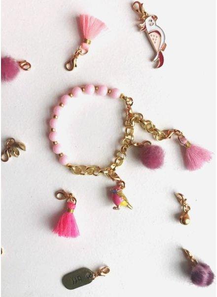ByMelo bedel armband roze