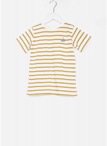 One we Like shirt boat stripe marshmallow/macaroon