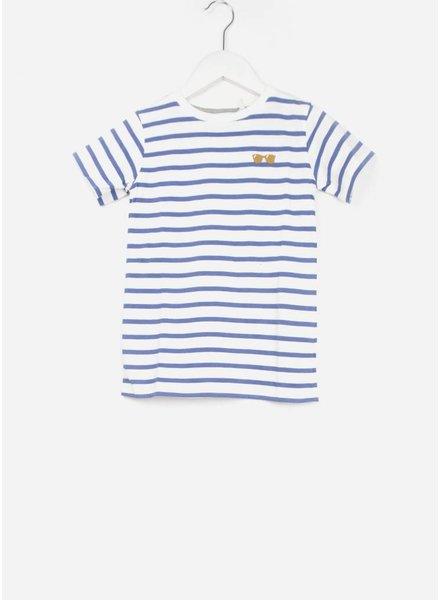 One we Like shirt stripes glasses marshmallow/classic blue