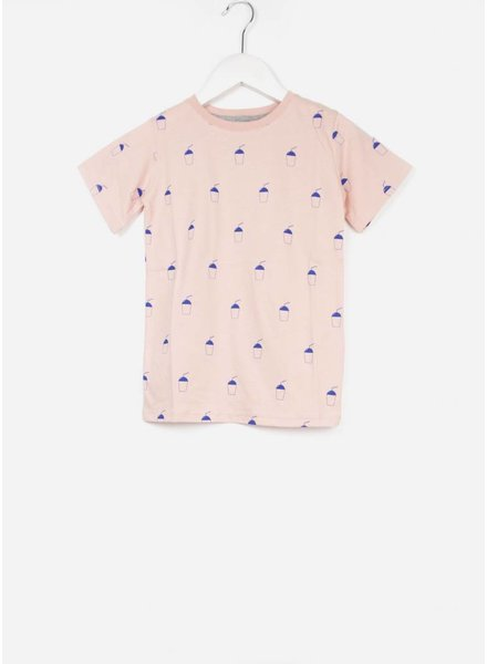 One we Like shirt milkshake coral cloud