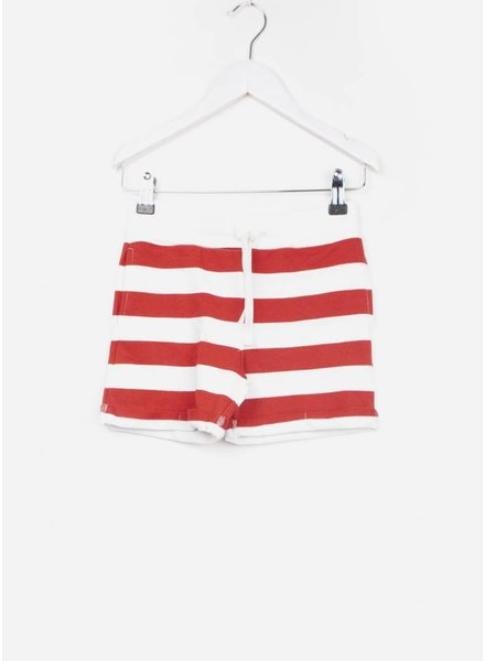One we Like short stripes marshmallow/true red