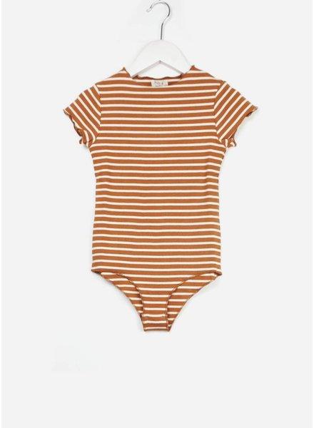 Play Up striped rib bodysuit