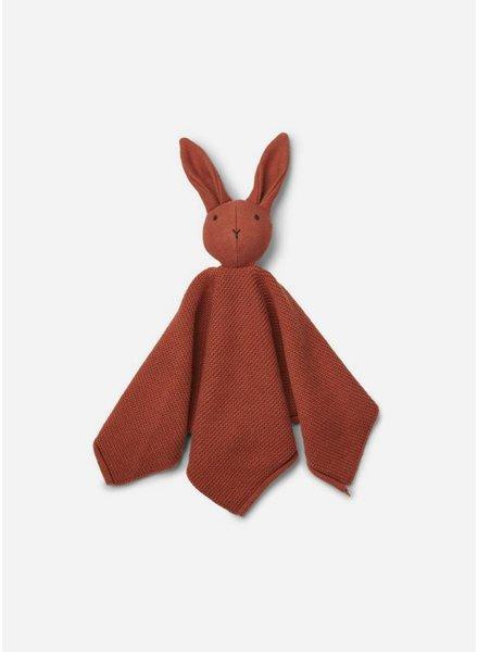 Liewood milo knit cuddle cloth rabbit rusty
