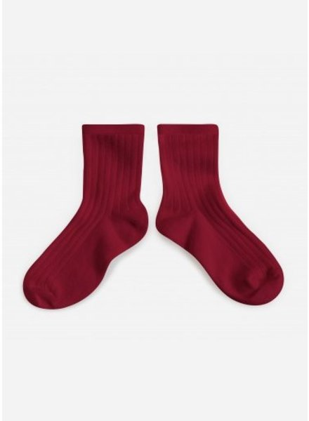 Collegien sokken marsala