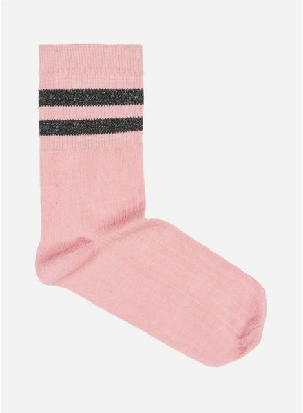 By Bar sparkle sock lake spencer pink