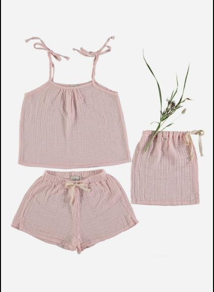 Buho pyjama set pipa kids light pink