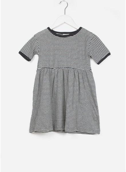 Buho jurk zoe striped jersey dress nuit