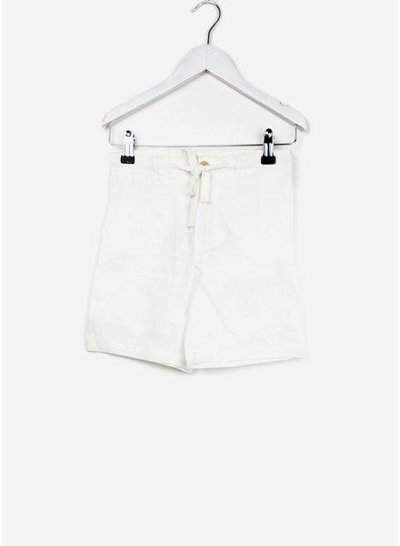 Buho short marco linen bermuda white