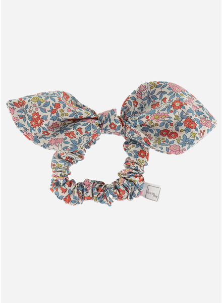 Bon Dep liberty hair bow chamomille red