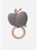 Liewood apple rattle grey melange