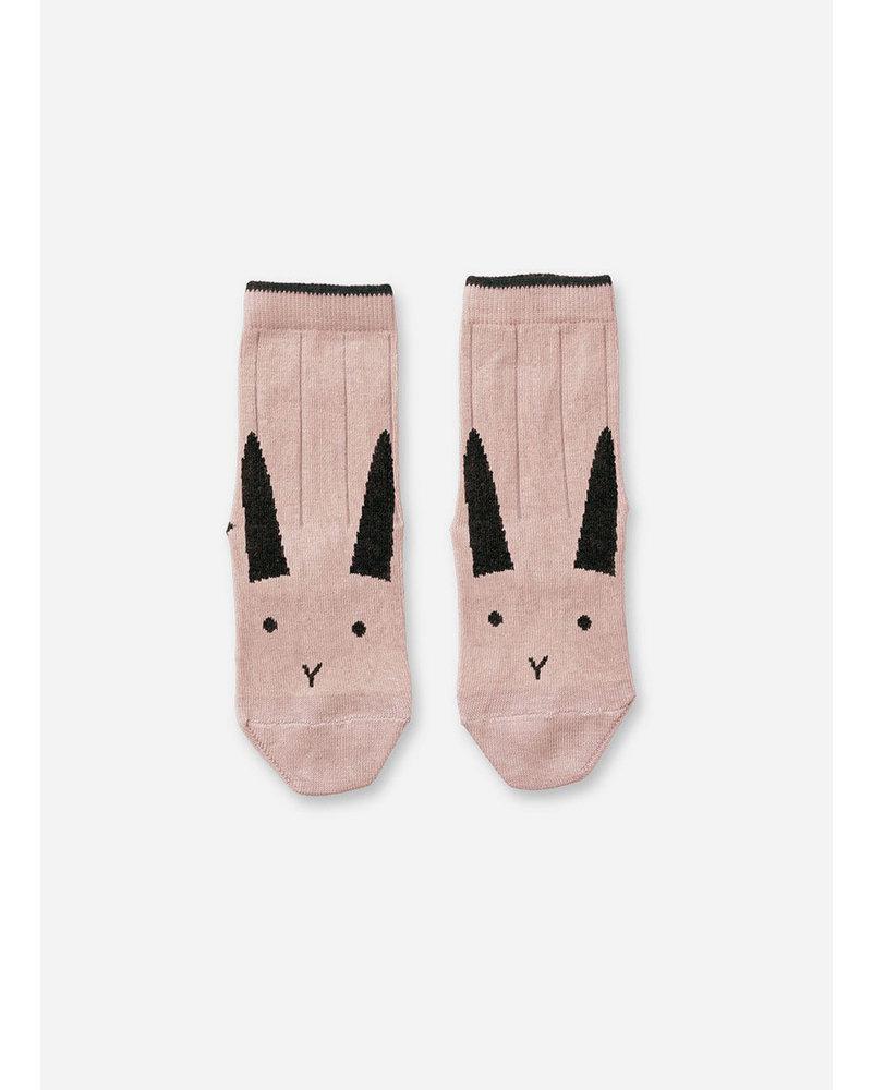 Liewood silas socks 2 pack rabbit rose