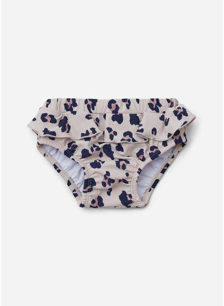 Liewood elise baby girl swim pants leo beige