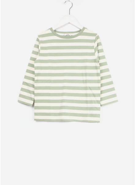 Fith shirt striped sleeve green