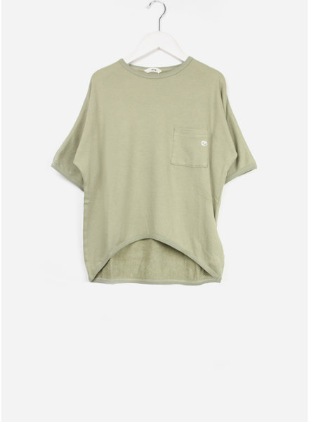 Fith shirt sleeve pocketed green