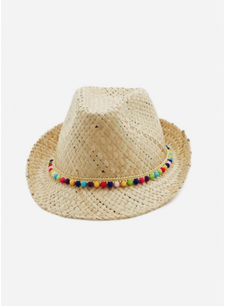 Bonton beads hat naturel
