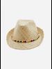 Bonton beads hat naturel