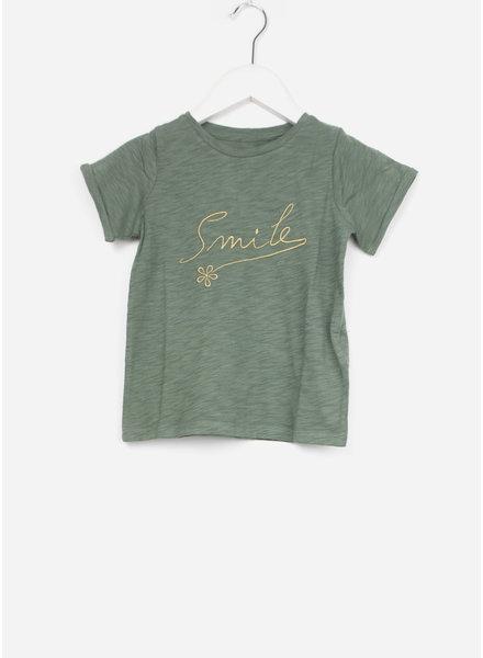 Bonton shirt smile vert agat