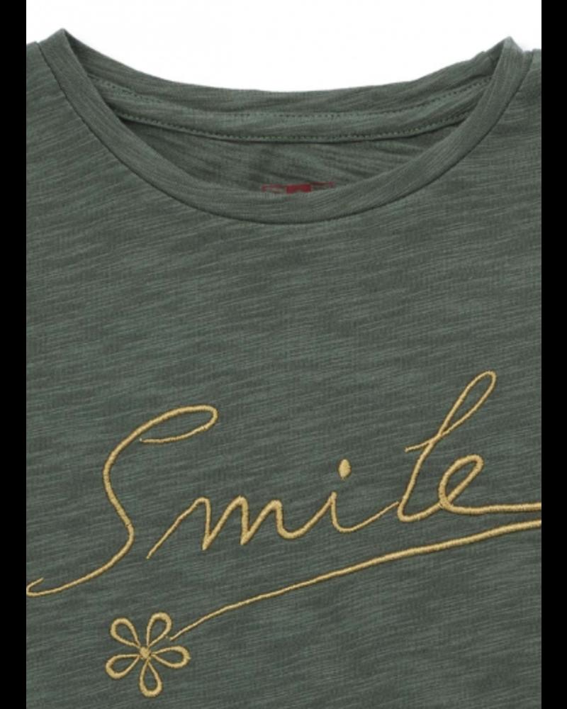 Bonton ts smile vert agat