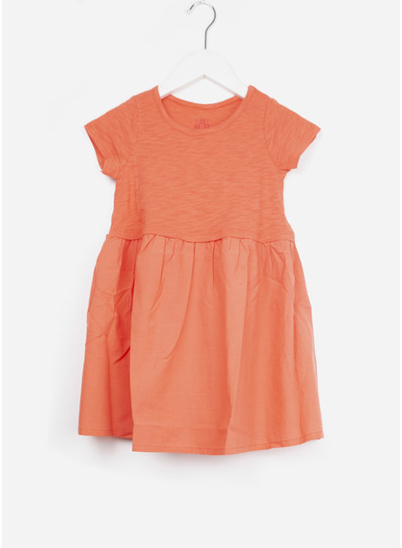 Bonton jurk dress coral