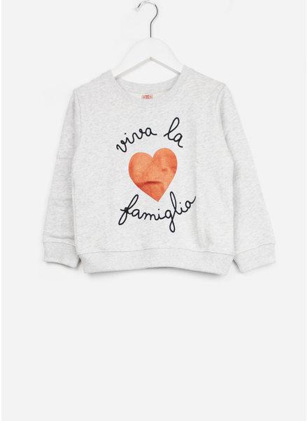 Bonton trui sweater viva chine gris