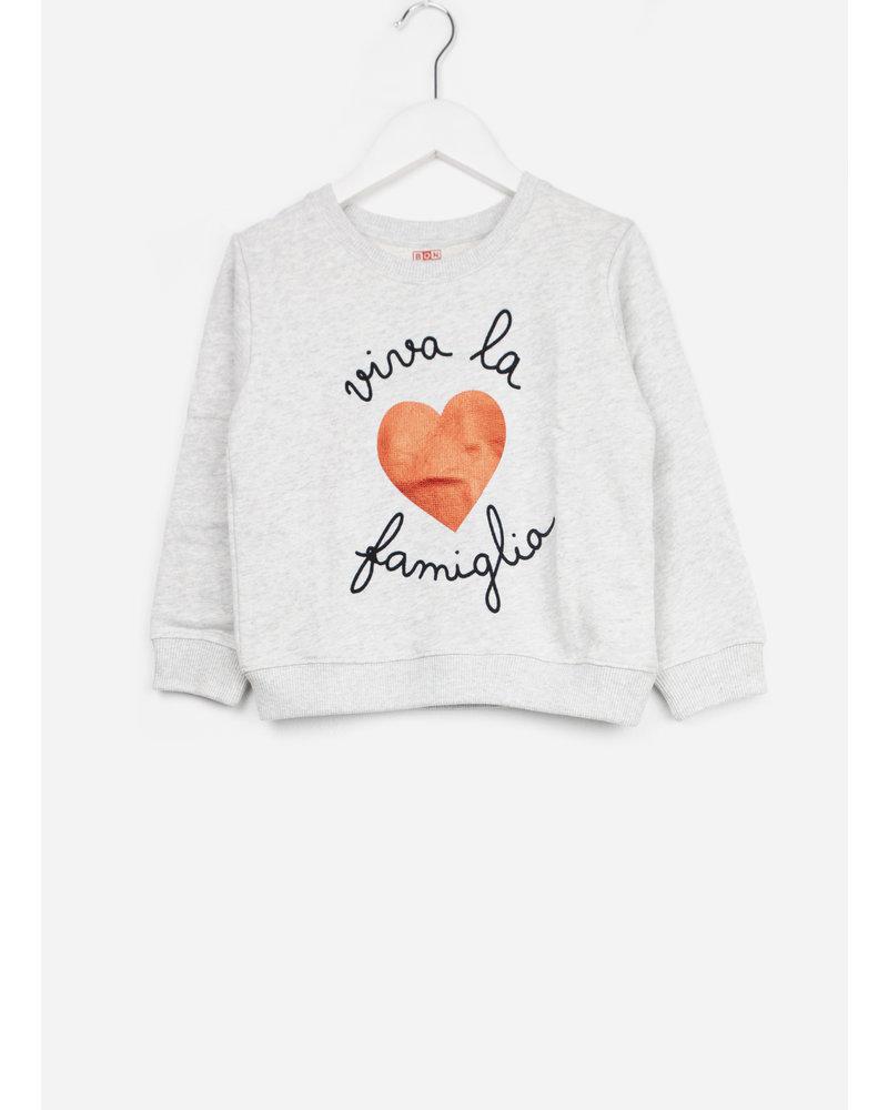 Bonton sweater viva chine gris