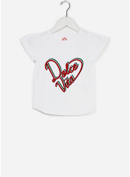 Bonton shirt dolce blanco