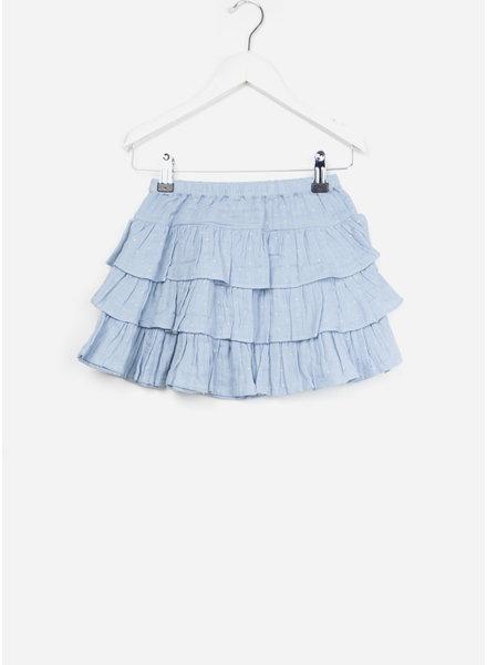 Bonton rok flounce skirt forget me