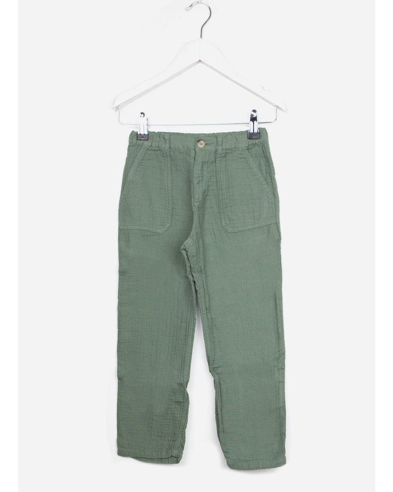 Bonton girl pants vert agat