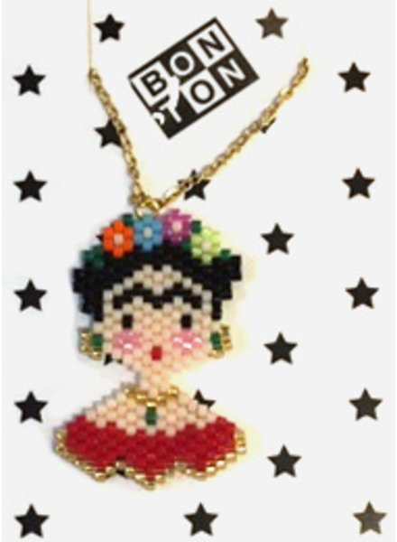 Bonton ketting collier perles frida