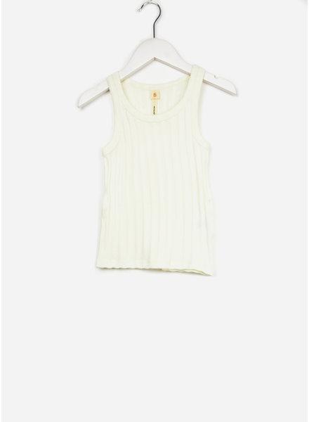 Bellerose shirt rib off white