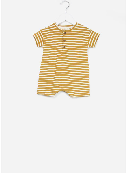 Play Up onepiece striped rib jumpsuit