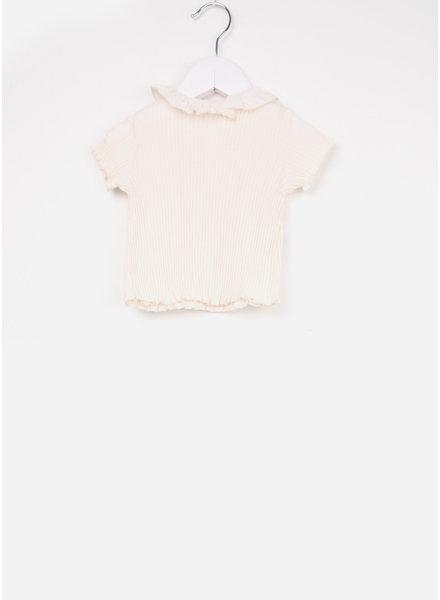 Play Up shirtje light pink rib