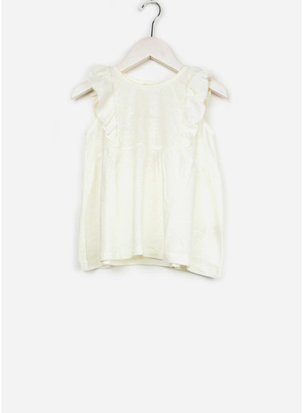 Play Up shirt jersey tank top off white