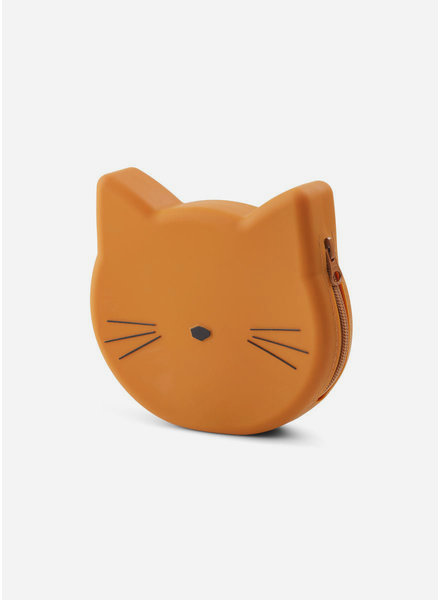 Liewood maggie purse cat mustard