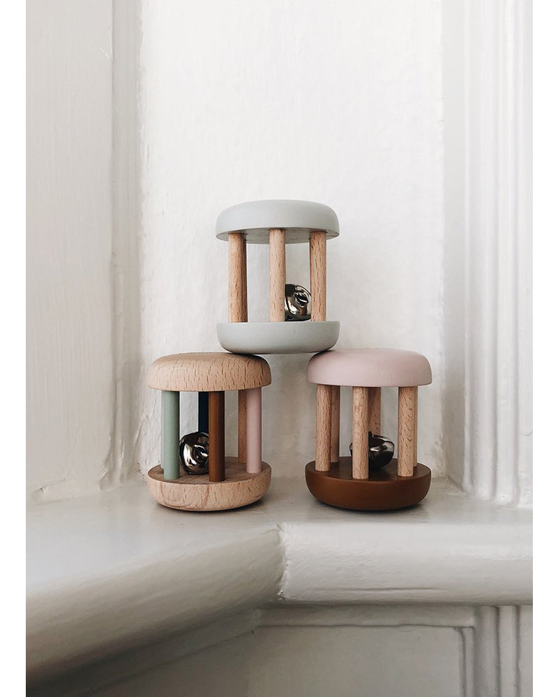 Liewood merete wood rattle mix