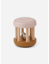 Liewood merete wood rattle rose mix