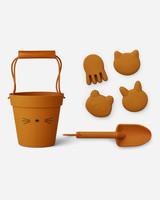 Liewood dante beach set cat mustard