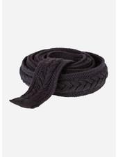 By Bar girls braided belt black