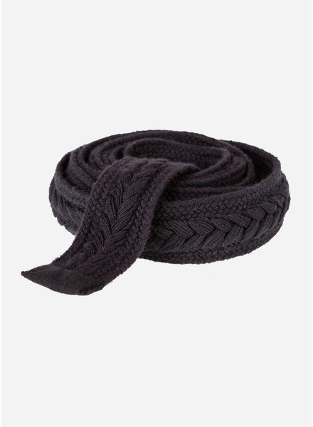 By Bar girls braided belt black